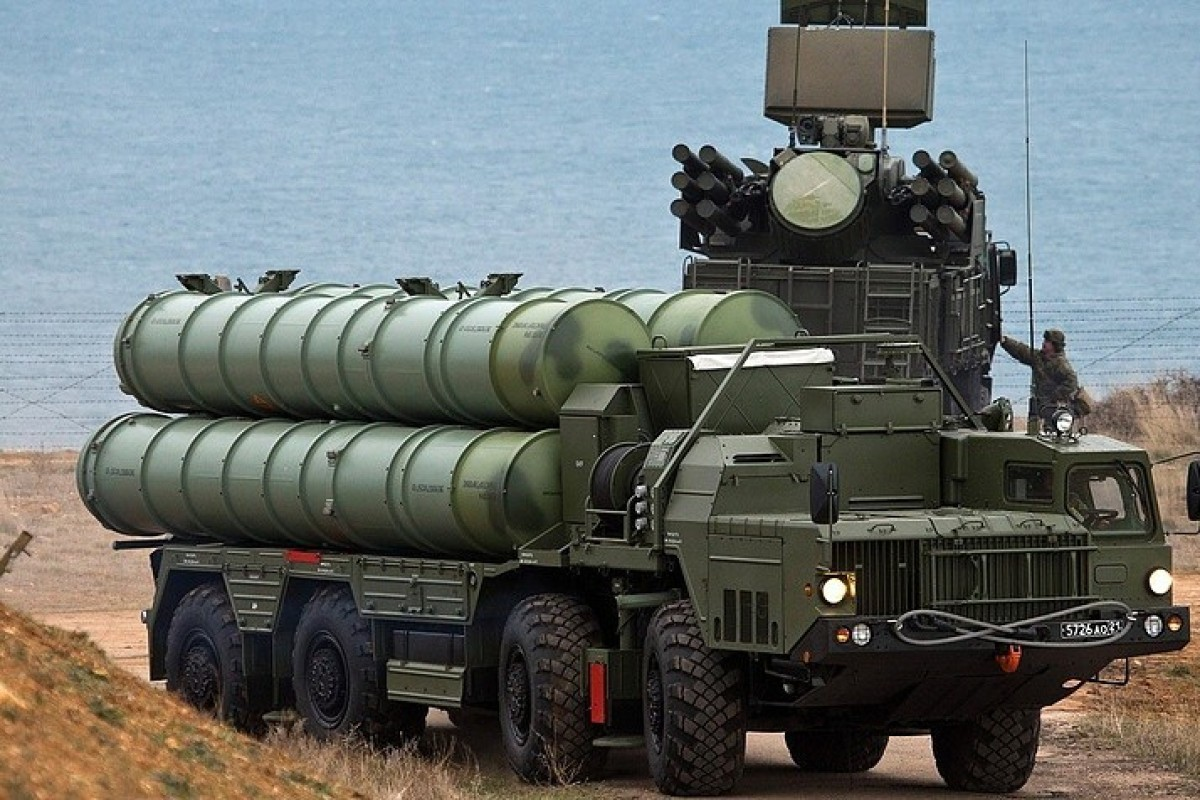 China has taken delivery of its own batch of Russian S-400 missile systems. Photo: TASS