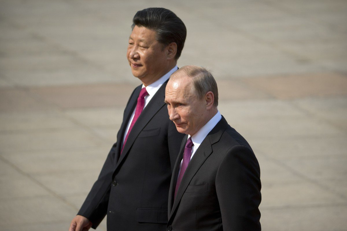 Vladimir Putin and Xi Jinping have overseen an increasingly close relationship between the two countries. Photo: AP