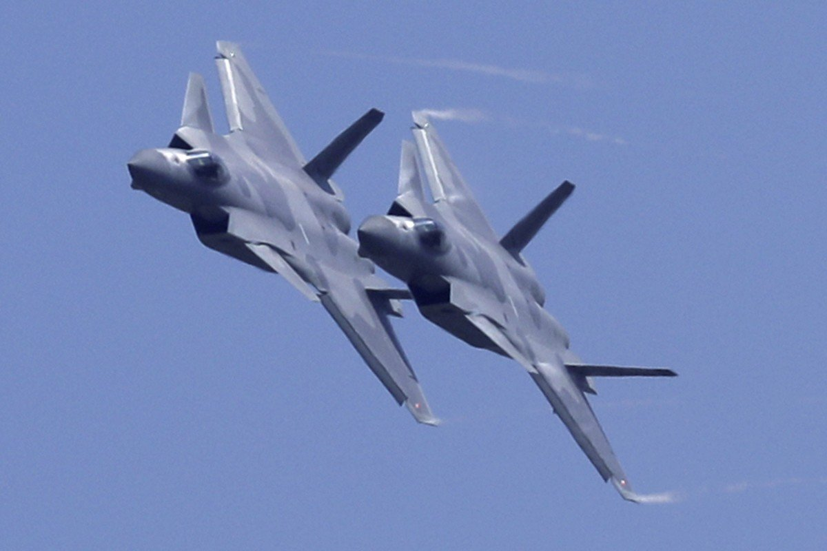 China's first J-20 stealth fighter jets entered service in 2017. Photo: AP