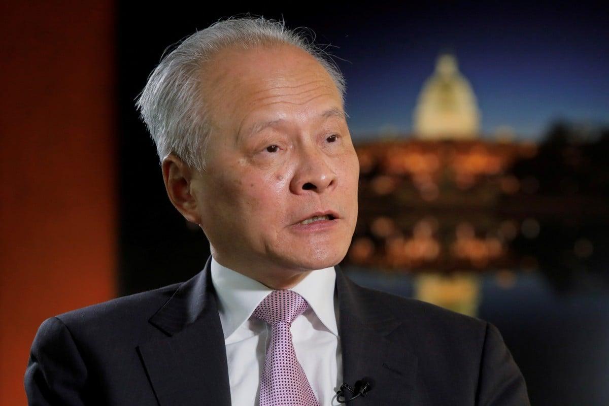 China's ambassador to the US Cui Tiankai. Photo: Reuters