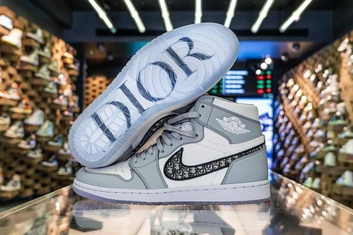 Dior x Nike Air Jordan 1 sneakers