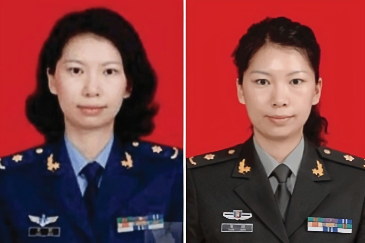A photo from a criminal complaint filed in US District Court shows Tang Juan in a military uniform. Photo: US District Court / Handout