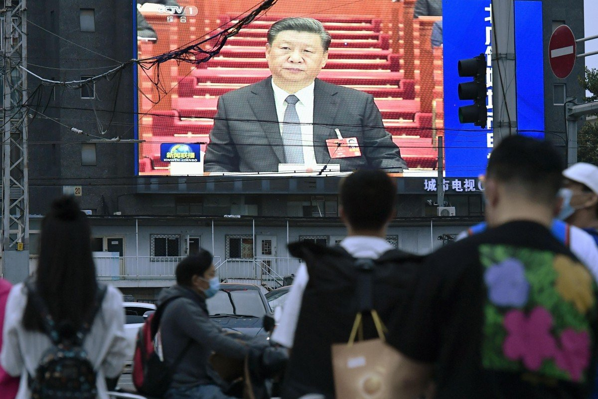 President Xi Jinping says China's quick economic recovery from the pandemic has proven the effectiveness of the country's governing system. Photo: Kyodo