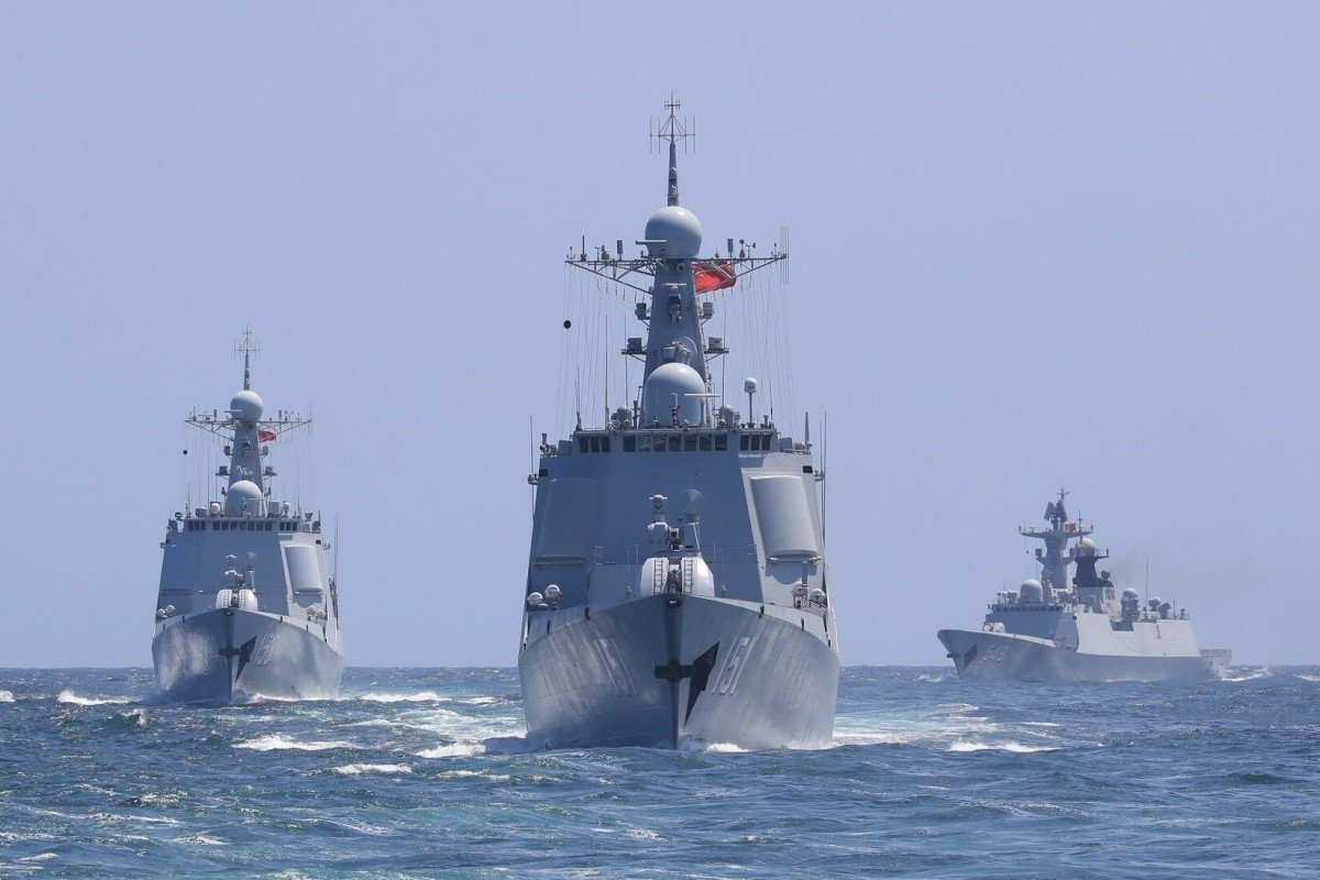 The PLA's Eastern Theatre Command says its troops carried out exercises close to Taiwan. Photo: Weibo