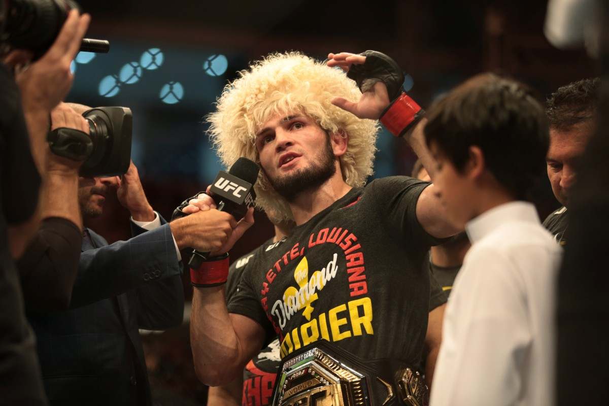 Khabib says UFC will negotiate GSP fight – but Dana White suggests it would  have to be at 155 pounds | South China Morning Post