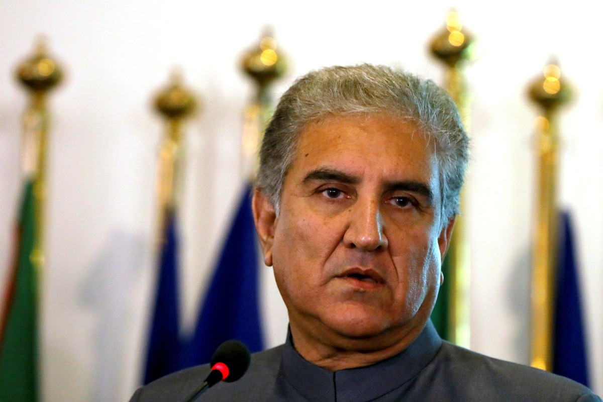 Pakistani foreign minister Shah Mahmood Qureshi is expected to visit Beijing this week, according to Pakistani media. Photo: Reuters