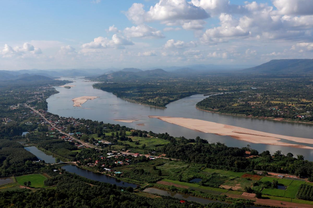 The Mekong River bordering Thailand and Laos is seen from the Thai side in Nong Khai. China says it will provide annual hydrological data to other Mekong nations to better combat climate change, as well as floods and drought. Photo: Reuters