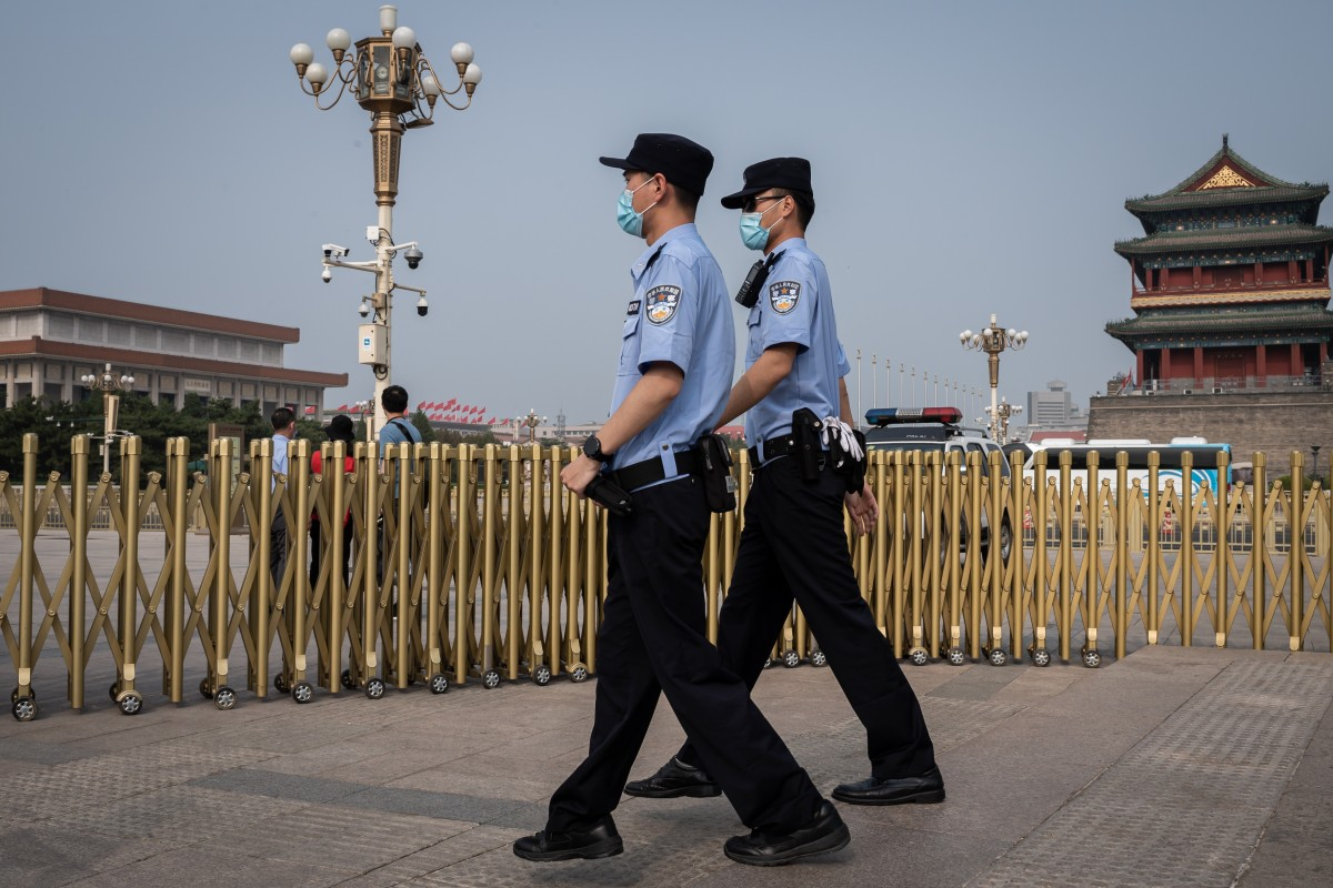 China plans to shake up supervision of police officers and judges using artificial intelligence and big data. Photo: AFP