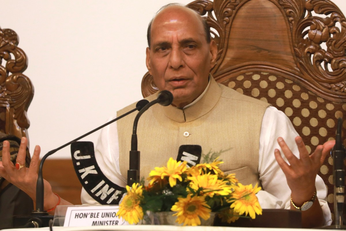 Indian Foreign Minister Rajnath Singh is expected to meet his counterpart from China at the Shanghai Cooperation Organisation meeting in Russia. Photo: EPA-EFE