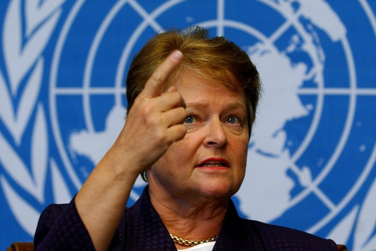 Gro Harlem Brundtland, co-chair of the Global Preparedness Monitoring Board, says the group's worst fears have been realised. Photo: EPA