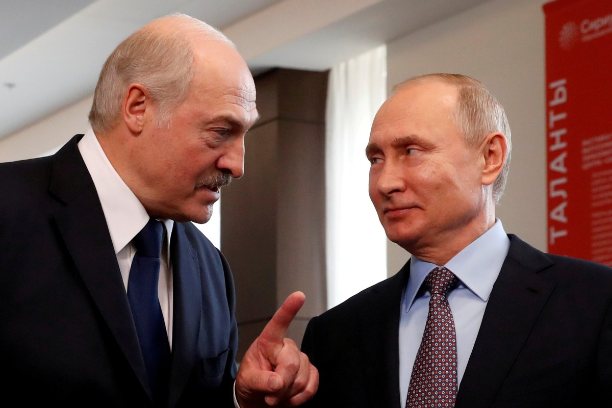 Belarus Protests Vladimir Putin Doubles Down On Support For Alexander Lukashenko With Us 1 5 Billion Loan South China Morning Post