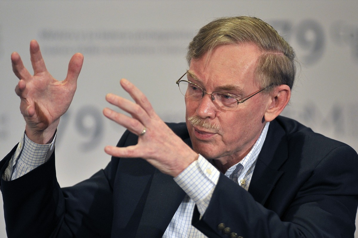 Former US State Department official Robert Zoellick, who later served as president of the World Bank, gave a speech in 2005 warning of a rise in protectionist sentiment. Photo: AFP