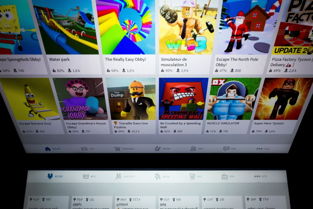 How Do You Make A Roblox Game On A Tablet Gaming Platform Roblox Said To Be Preparing Plans For Us Listing South China Morning Post