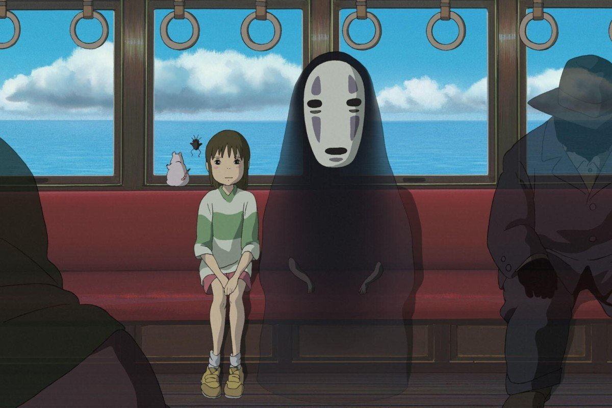A still from Spirited Away (2001). Japanese director Hayao Miyazaki won the best animated film Oscar in 2003 for the spooky and surreal film. Photo: Studio Ghibli