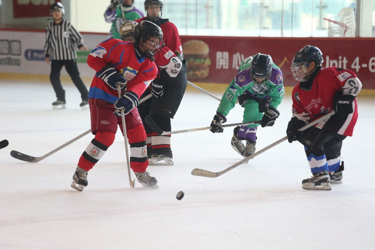From Friday, ice hockey will be the latest team sport once again allowed at public venues after a long shutdown due to Covid-19. Photo: K. Y. Cheng