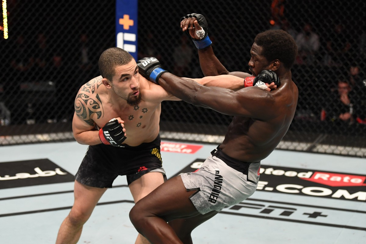 UFC 254: Robert Whittaker back to his brilliant best,