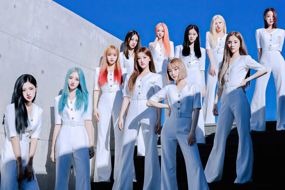 Girl grup K-pop Loona memiliki 12 anggota, sama dengan Iz * One dan satu di belakang Seventeen, tetapi jauh lebih sedikit daripada 23 NCT. Foto: Blockberry Creative