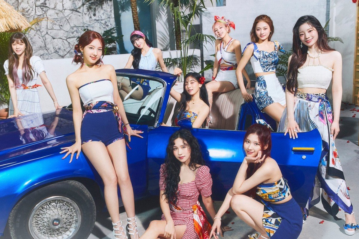 K-pop icons Twice return with new album Taste of Love and summery song  Alcohol-Free | South China Morning Post