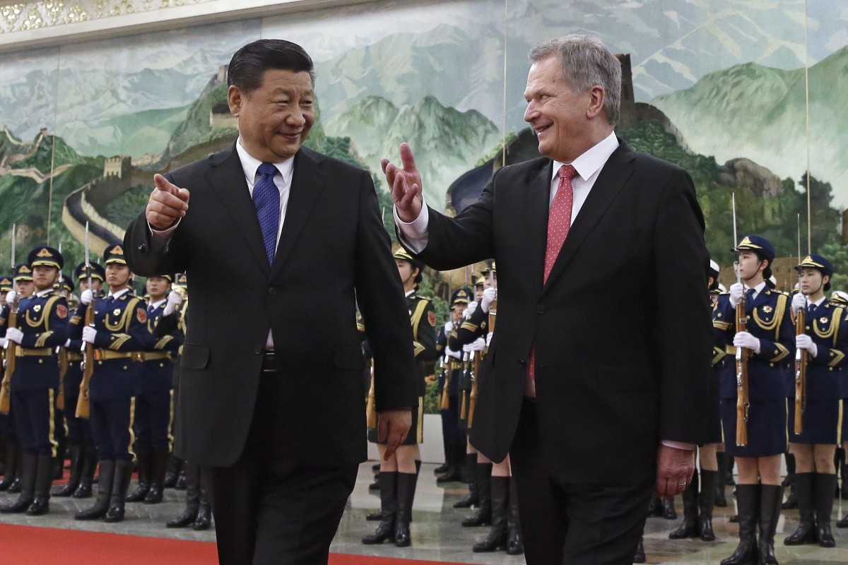 Xi Jinping calls on Finland as China, US compete for European hearts |  South China Morning Post