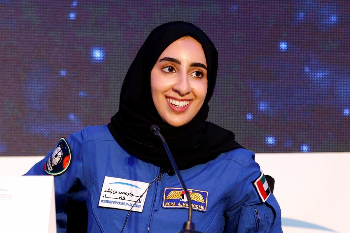 UAE's first Arab woman astronaut-in-training chases childhood dream | South  China Morning Post