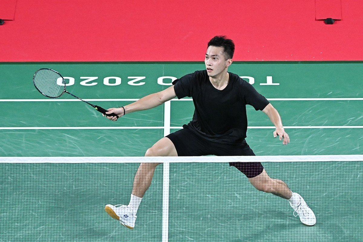 Tokyo Olympics: badminton body takes blame for Angus Ng's black jersey and  missing Bauhinia as politicians and fans rush to his defence | South China  Morning Post