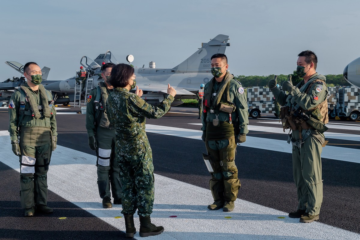 Beijing pushes back at US troops on Taiwan but  no sudden move expected