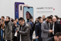 Huawei launched its flagship phone, P20 Pro, in Paris in March 2018. (Picture: Marlene Awaad/Bloomberg)
