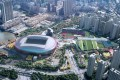 The winning design by New World Development for the HK$30 billion Kai Tak Sports Park. Photo: SCMP Pictures