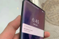 Pictures circulating on Chinese social media show a purported OnePlus phone with a curved screen and no notch. They're in line with previous rumors hinting that the new device will have a pop-up camera. (Picture: via Weibo)