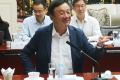 Huawei CEO Ren Zhengfei speaking in Shenzhen on May 21, 2019. (Picture: Bai Yu/Xinhua)