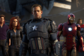 They look a little different from the Avengers we know. But hey, the faces of Chris Evans and Scarlett Johanson aren't exactly cheap. (Picture: Square Enix)