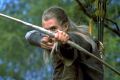 Orlando Bloom starred as the bow-wielding Legolas in the LOTR trilogy, and reprised his role again in 2013's The Hobbit. (Picture: New Line Cinema)