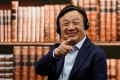 """Huawei founder RenZhengfei said the company needs to be restructured for a """"painful long march"""" as tensions between China and the US continue. (Picture: Aly Song/Reuters)"""