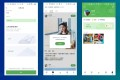 Pengyou lets you scroll through posts from friend and post pictures, like other social networks, but it places an emphasis on user verification. (Picture: Tencent)