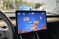 Tesla says this will be the first time that it offers internet-connected games. (Picture: Tesla via Weibo)