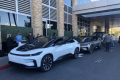 Faraday Future says CEO Carsten Breitfeld drove the FF 91 from Los Angeles to Las Vegas on a single charge. (Picture: Faraday Future via Weibo)