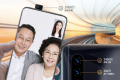 The phone comes with a pop-up selfie camera and three rear cameras. (Picture: JD.com)