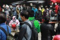 Long queues for surgical masks have become a common sight in Hong Kong as people seek to protect themselves from the new coronavirus. (Picture: May Tse/SCMP)