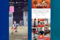 Workout videos are trending on various Chinese video platforms. (Picture: Supermonkey via Yizhibo/Kuaishou)