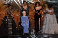 Katherine Johnson surrounded by actresses Janelle Monae, Taraji P. Henson and Octavia Spencer on stage at the 89th Oscars in 2017. (Picture: Mark Ralston/AFP Photo)