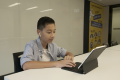 Jacob Prohaska, 12, is a contestant in Apple's first ever Swift Student Challenge. (Picture: Chris Chang/Abacus)