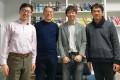 (From left) Dr Liu Xiaofan, Professor Jonathan Zhu, Dr Hiroki Takikawa, and Dr Tetsuro Kobayashi met to discuss future collaboration opportunities.