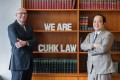 (Left) Professor Lutz-Christian Wolff, Wei Lun Professor of Law & Dean of CUHK LAW. (Right) Elliot Fung,JD Programme Director and Professional Consultant, CUHK LAW