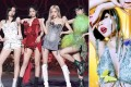 From left: leading K-pop acts Blackpink and HyunA, rocking fashions from East and West. Photo: @theblondsny, @hyunah_aa/Instagram