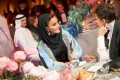 Sheikha Moza bint Nasser Al Missned and Victoria Beckham in Doha in 2019. Sheikha Moza is considered the chicest woman in the Middle East. Photo: CWH