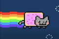 Nyan Cat, a meme that sold for more than half a million dollars. Photo: Nyan Cat/YouTube