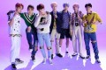 K-pop boy band BTS were depicted on a Topps trading card beaten and bruised. Commenters online called the depictiion violent and racist, and the company withdrew the card and apologised. Photo: Big Hit Entertainment