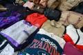Some of the fake goods seized during Hong Kong customs raids last week. Photo: May Tse