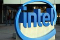 The Intel logo is displayed outside of the company's headquarters in Santa Clara, California, on January 16, 2014. Photo: AFP