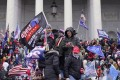 Protesters storm the US Capitol in Washington, DC on January 6. Photo: Los Angeles Times / TNS